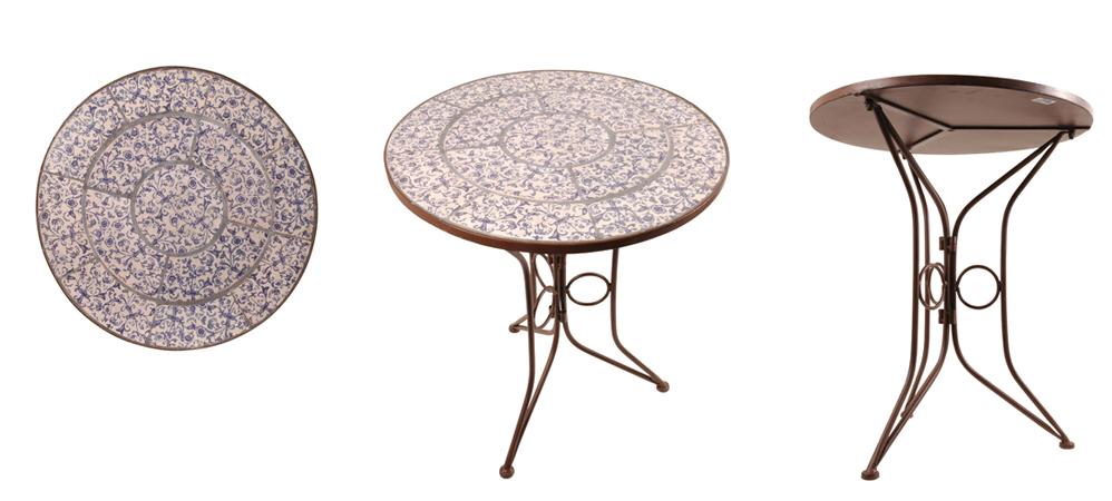 Круглый стол из металла своими руками 68